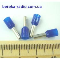 Наконечник втулковий TUL-RI-02508 (2.5mm2, 8mm, синій)