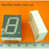 97  1-но цифр. інд. 1``, зелений, спА, KEM10011-BYG (RL-S1020GDAW/D15)