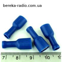 ST-010/B (клема гніздо 6.3x0.8mm, 1.5-2.5mm2, синя)