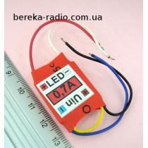 Драйвер LED 25W Uвх=7-36V, Iвих=700mА, AV-36-2-700