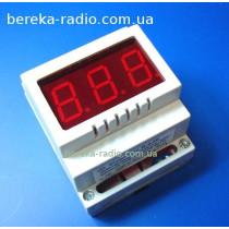 В-0.8К вольтметр ~U=(25 до 400В), червоний, DIN