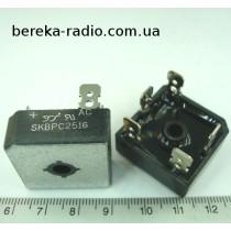 SKBPC2516 (25A 1600V) (трьохфазний)