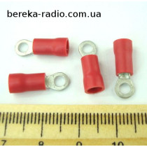 ST-080/R (клема очкова M3, отвір 3.2mm, 0.5-1mm2)