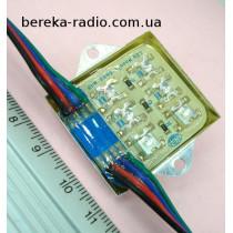 Світлодіодний модуль 112*6 RGB (2шт черв.+2шт.зел+2шт.син) самокл. 3.8x4.5x0.6