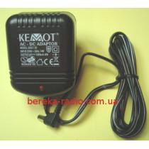6V/1.0A (-) 2.1x5.5  Kemot URZ1150 (не стабілізований)