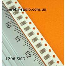 0.1 mF (Y5V) 50V +- 20% /1206