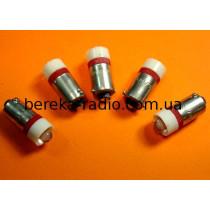 Контролька LED B9/24/R 24V AC/DC червона 1000mcd