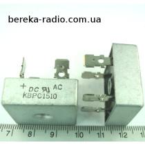 KBPC1510  (15A  1000V)