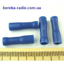 ST-012/B (клема гніздо 4.8x0.5mm, 1.5-2.5mm2, синя)