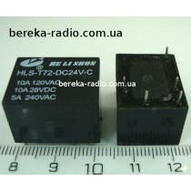 HLS-T72-DC24V-1C (10A/120VAC/28VDC, 5A/240VAC)