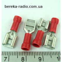 ST-005/R (клема гніздо 6.4x0.8mm, 0.5-1mm2)