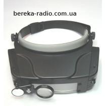 Окуляр на голову MG81007C з LED підсвіткою, 1.5X, 3X, 9.5X, 11X
