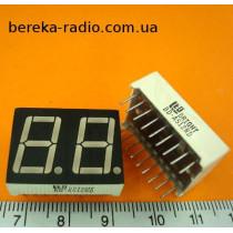 BD-A512RD (зелений, спільний анод, розм. симв 14.2х8.1мм)