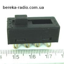 Перемикач до фену LJM-02-02 6A/250V (4 pin)