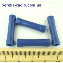 ST-065/B (клема з`єднувальна циліндрична, 1.5-2.5mm2, синя)