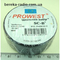 Ізострiчка PVC Prowest SC-B WE5413-1519 чорна