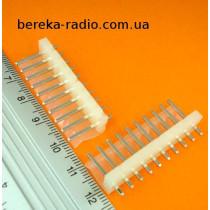 PWL-10  (3961A-10TW-L, K2400-10S) вилка на плату 10 pin