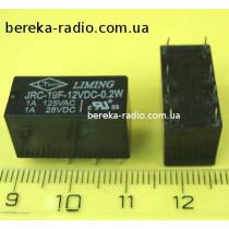JRC-19F-2C-12VDC (1A/28VDC/120VAC)