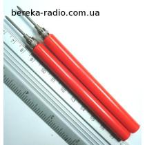 Щуп для тестера розбірний d=2mm VK30683 червоний (YY2617)