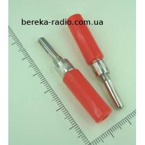 Щуп для тестера розбірний d=4mm VK30684 червоний