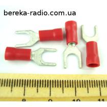 ST-092/R (клема вилка М5, 0.5-1mm2, червона)