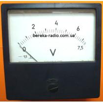 Головка вольтметра 0-7,5V M42300