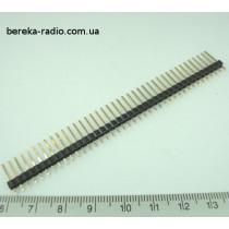 PLS-40/14 (L1x40S14) штирки однорядні 1х40, h=14mm, крок 2.5mm