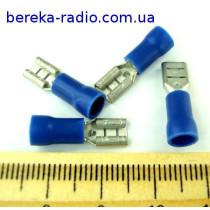 ST-004/B (клема гніздо 4.8 x 0.8mm, 1.5-2.5mm2, синя)