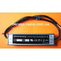 Драйвер LED 50W, Uвх=100-240V, Uвих=71-142VDC 350mA, EWC-050S035SS-0000, IP67 (в корпусі, 165х43х34m