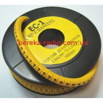 Маркер кабельний ЕС-1 №7 (2,5 мм.кв)