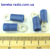 ST-080/B (клема очкова M3, отвір 3.2mm, 1.5-2.5mm2)