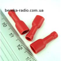ST-013/R (клема гніздо 4.8 x 0.8mm, 0.5-1.0mm2, червона)