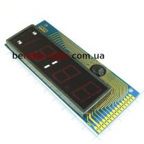 229  4-х цифр. цифр. інд. червоний, 0.3``, СпА, динамічна інд. сірий фон, KEM-3241-BSR
