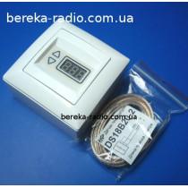 ТР-09 Gunsan терморегулятор (-55 до +125*С) +-0.1*С/3500W/зовнішній/для теплої підлоги