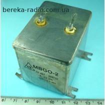 20 mF 500V (+-10%) MBGO-2