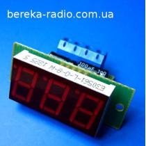 АПТ-0.56-10A-I-R амперметр І=(0 - 9.99А)/0.01A, червоний