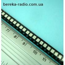 Світлодіод SMD 3528 зелений, 525 nm, 750 mcd, 120*, HL-A-3528U97GC-S2-13L
