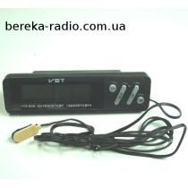 Годинник-термометр VST-7067