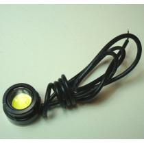 Світодіодна лампа око орла EE25B (на самоклейці, корпус чорний)