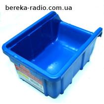 Лоток пластиковий синій 170х115х75мм 52-600