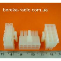 N42W-10 (KWF5150-10, розетка провід-провід, 10pin)