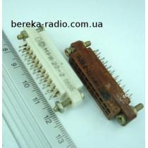 МРН22-2 (розетка, пластмаса, 86р)