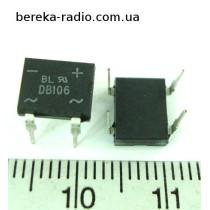 DB106=DF06M /DB-1 (1A, 800V)